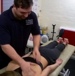 Sports Therapy Session